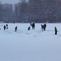 На замёрзшем пруду :: Aнна Зарубина
