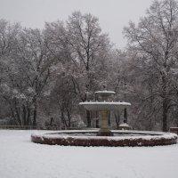 зимний фонтан :: Алина Гриб