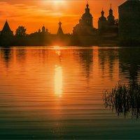 Солнце в озере купалось... :: Александр Никитинский