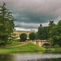 Гатчинский дворец и Карпин мост :: Julia Martinkova