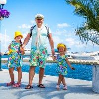папа и дочки :: Мария Корнилова