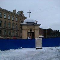 Часовенька на Сенной площади. (Санкт-Петербург 2017 год). :: Светлана Калмыкова