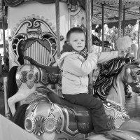 Я на лошадке. :: Оля Богданович