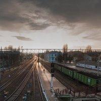 панорама жд Луганска :: Алина Гриб