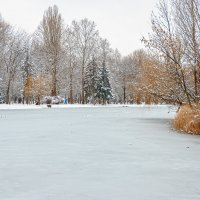 На зимнем озере :: Юрий Яловенко