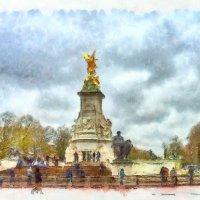 Мемориал Виктории (Лондон) :: Максим Дорофеев