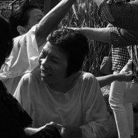 Крещение в реке Иордан :: Людмила Синицына