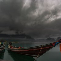 Озеро Чео Лан – одно и самых красивых мест в Таиланде... :: Александр Вивчарик