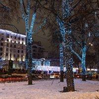 Новогодняя Москва :: Владимир Безбородов