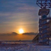Академический мост через Ангару :: Анатолий Иргл