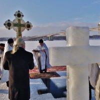 Освящение воды на р. Волге . :: Святец Вячеслав