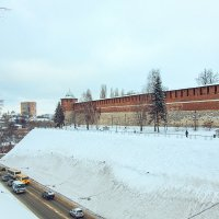 Нижегородский кремль зимой :: Ирина Лепнёва