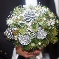 Зимний свадебный букет :: Дмитрий Переяслов