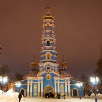 Крещение. Кафедральный Собор Рождества Пресвятой Богородицы. :: Сергей Тагиров