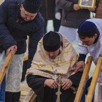 Освящение купели на Крещение. :: Альмира Юсупова
