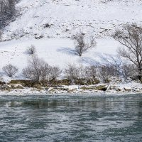 Шуга на реке Кубань :: Игорь Сикорский