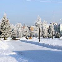 Город зимой :: раиса Орловская