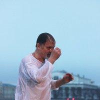 Крещение в Неве :: Вера Моисеева