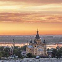 На закате. :: Александр Назаров