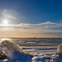 Зима на заливе. :: Михаил Бояркин