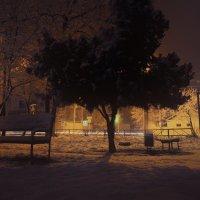 Снег в Анапе :: Александр Грибакин