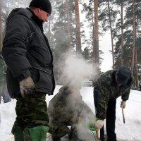 Для  тех, кто  понимает !!!...).. Ну  какой  выходной без рыбалки,  без ухи ?!!!) :: Валерия  Полещикова