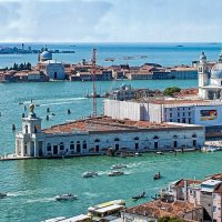 Венеция: таможня и Санта Мария делле Салюте :: Виталий Авакян