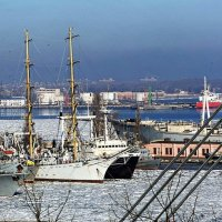 зима в Одессе :: Александр Корчемный