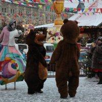 Красная площадь в Москве.21.01.2017г. :: Виталий Виницкий