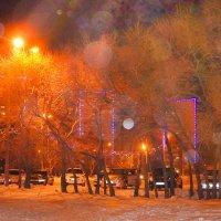 Вечерний Комсомольс-на-Амуре :: Ирина Антоновна