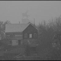 Туман над городом :: Алексей Патлах