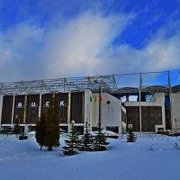 Снежный стадион.. :: Vladimir Semenchukov