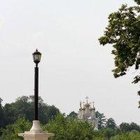 Набережная Рязанского кремля с видом на храм Преображения Спаса на Яру. :: Иришка ***