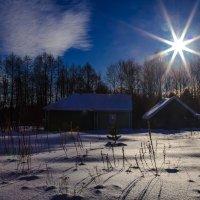 Солнечный морозный день в Самылово. :: Валерий Гудков