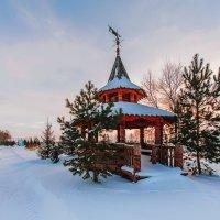 Зимний пейзаж :: Андрей Липов