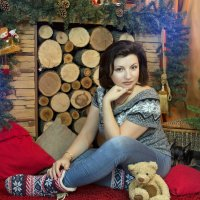 Печально расставаться с новогодними декорациями, но... пора! ) :: Райская птица Бородина