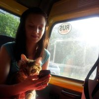 Дама с собачкой :: mikhail