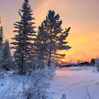 вечера перед морозом :: Александр