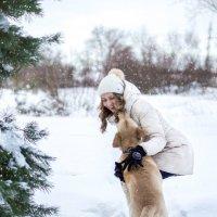 Зимняя прогулка) :: Наталья Величко