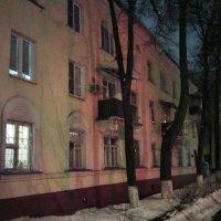 Вечерние Люберцы в январе по улице Кирова. :: Ольга Кривых