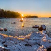 Вот и солнце встает. :: Фёдор. Лашков