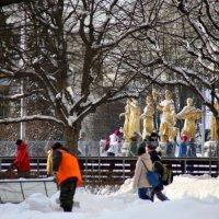 ритмы города-зима :: Олег Лукьянов