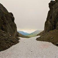 Ущелье Рамзая - Хибины :: Сергей Золотухин