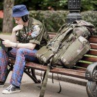 Присядем друзья перед дальней дорогой :: Борис Гольдберг