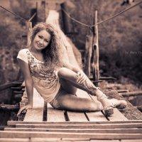 на забытом мостике :: Мария Полохина
