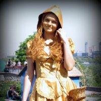 Желтая шапочка :: Оля5 Соболева