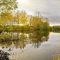 озеро в Смоленской области, по легенде одно из мест где может быть затоплено золото Наполеона :: Алексей