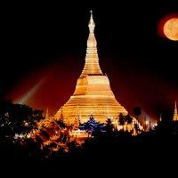 Пагода Шведагон. :: Олег Грачёв