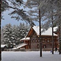 деревянное зодчество :: Елена Третьякова