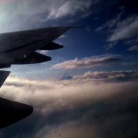 в облаках :: Polina